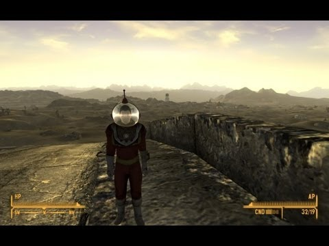 Fallout New Vegas - Space Suit location - YouTube