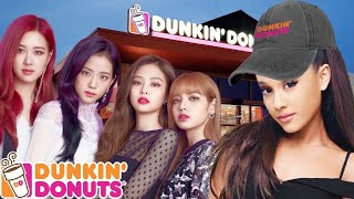 Celebrities at Dunkin' Donuts