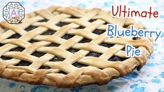 Ultimate Blueberry Pie using Frozen Blueberries (블루베리 파이) / Baking Tips / 【Western Food】