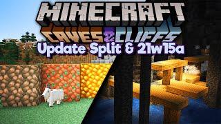 Caves & Cliffs Update Split! ▫ Minecraft 1.17 Snapshot 21w15a
