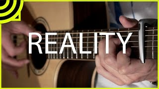 Reality - Lost Frequencies (Fingerstyle Guitar Cover by Albert Gyorfi) [+TABS]
