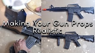 Making Your Gun Props Realistic