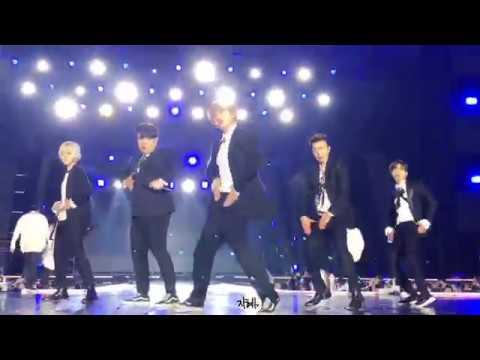 180224 슈퍼주니어(Super Junior) Black Suit 강릉 K POP World Festa