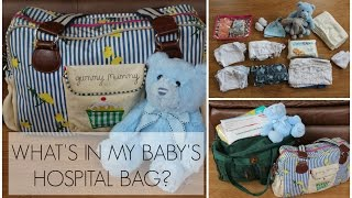 WHAT'S IN MY BABY'S HOSPITAL BAG? (UK)