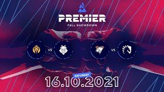 BLAST Premier Fall Showdown, Day 5: MAD Lions vs. G2 Esports, Virtus.pro vs. Team Liquid