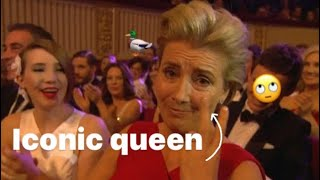 Emma Thompson being the iconic queen she is for 2:31 minutes straight