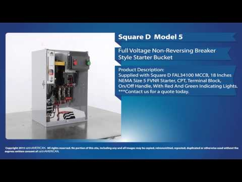 Square D Model 5 Full Voltage Non-Reversing Starter Bucket
