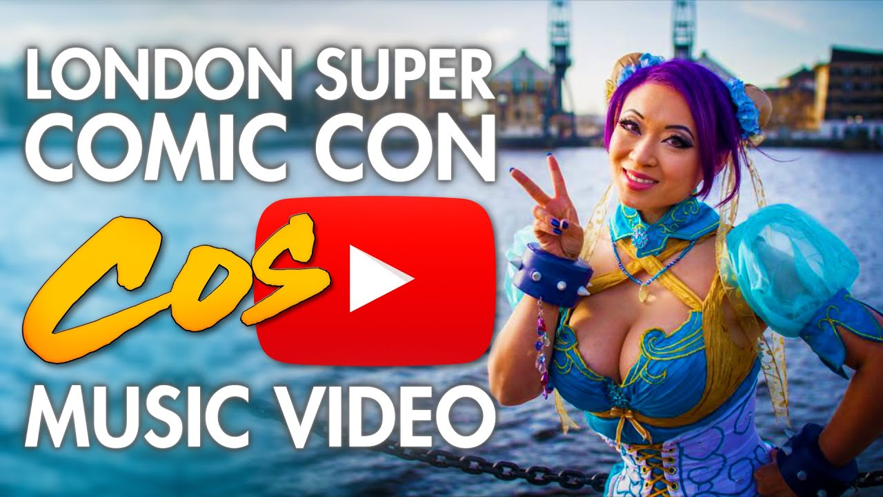 London Super Comic Con Cosplay Music Video.