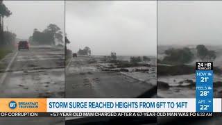 Tropical storm Michael rips through Florida
