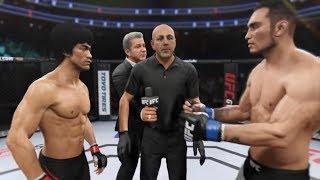 Bruce Lee vs. Tony Ferguson (EA Sports UFC 2) - CPU vs. CPU