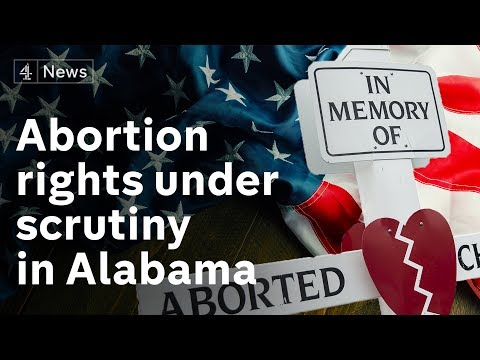Alabama latest US state to vote on anti-abortion legislation
