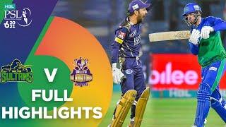 Full Highlights   Multan Sultans vs Quetta Gladiators   Match 14   HBL PSL 6   MG2T