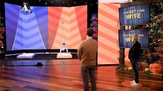 Jimmy Kimmel & Ellen Play 'You Bet Your Wife'