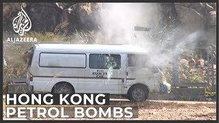 Hong Kong police 'dispose of 10,000 petrol bombs in a week'