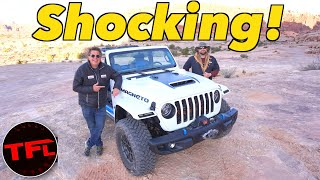 We Drive The All Electric Jeep Wrangler To Find Out if Off-Road Electric Cars are a Thing!