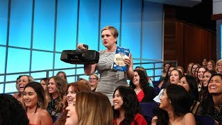 You Won't Believe What This Audience Member Wrote to Ellen About