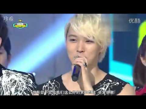 [中字] 120717 Super Junior - Show Champion 一位授賞