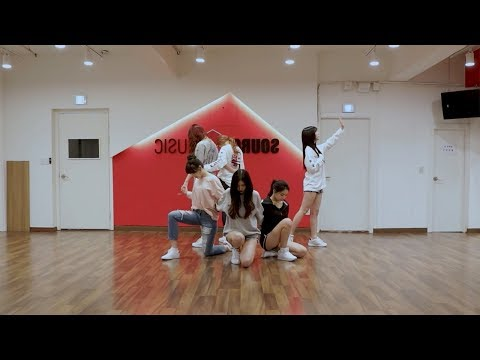 GFRIEND (여자친구) - 밤 (Time For The Moon Night) Dance Practice (Mirrored)