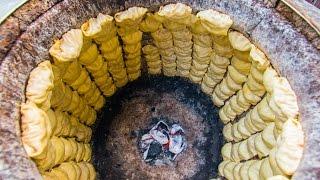 BEST Street Food in China   PLUMP and DEEP Tandoori Bao's on the Silk Road!