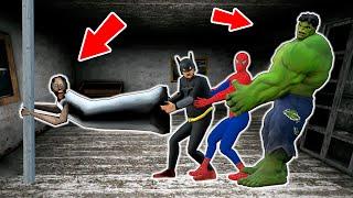 Granny vs Avengers vs Batman vs Hulk vs Spiderman - funny horror animation parody (p.113)