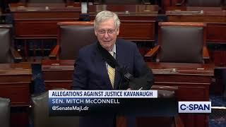 Senate Majority Leader Mitch McConnell on Allegations Against Justice Brett Kavanaugh