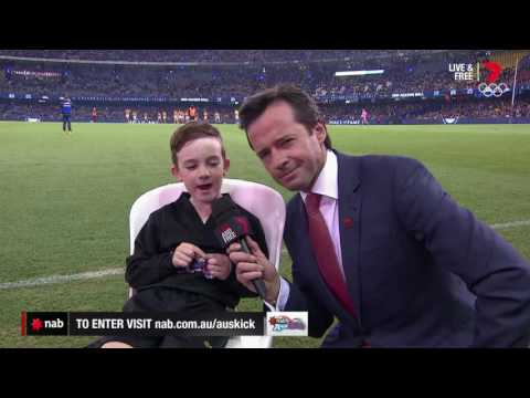 2016 NAB AFL Auskicker of the Year – Rd 13 Nominee