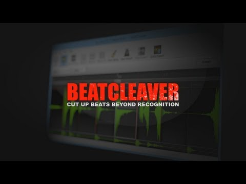 BeatCleaver - The Sampling Audio Editor and Beat Slicer