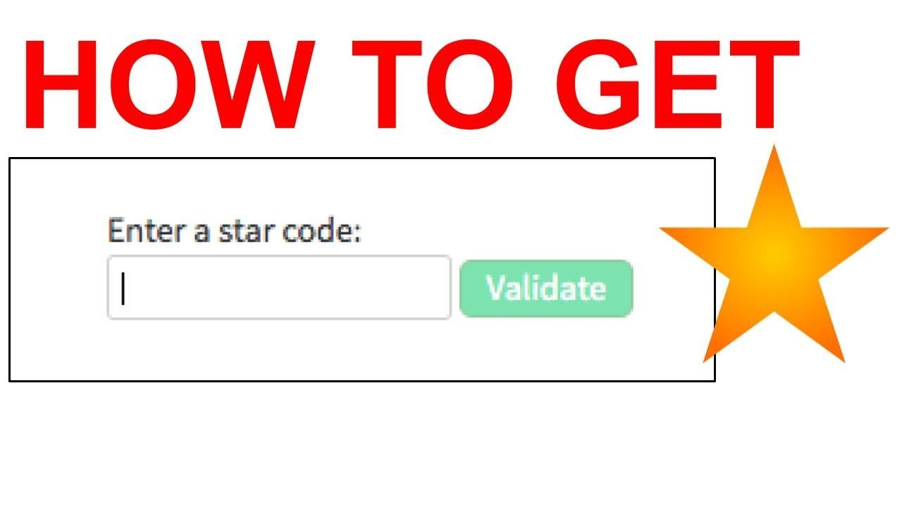 How To Use Star Code In Roblox Pc Roblox Star Code