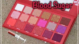 REVIEW: Jeffree Star Blood Sugar Eyeshadow Palette
