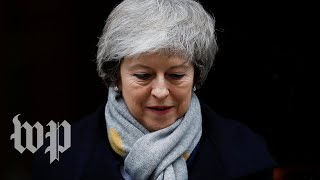 Brexit deal defeat means May faces a no-confidence vote