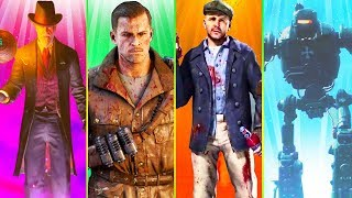 THE BEST ZOMBIES MAPS OF ALL TIME!! // FULL EASTER EGGS // CALL OF DUTY ZOMBIES