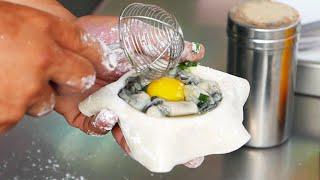 Ẩm thực Đài Loan - hàu chiên trứng / bóng hàu chiên thơm ngon