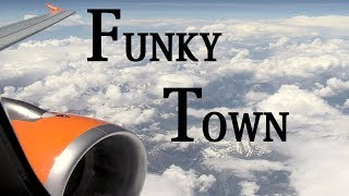 Funky Town Acoustic guitar gemafree Rob Schneider instrumental background music wingsuit Video