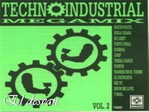 Techno industrial megamix vol. 2  parte 1