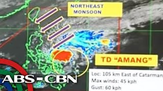 WATCH: PAGASA 5PM Update on Tropical Depression 'Amang'   21 January 2019