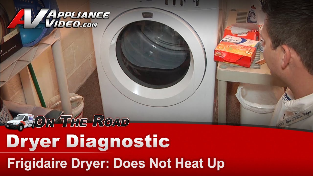 How To Fix Frigidaire Dryer Pictures