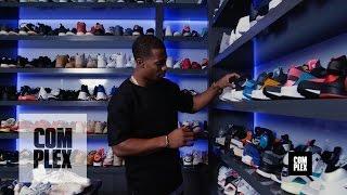 Complex Closets: Victor Cruz Shows Us His Crazy Sneaker Collection
