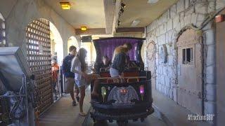 [4K] Haunted Castle Dark Ride at Santa Cruz Beach Boardwalk