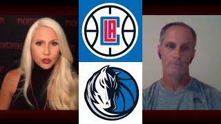 LA Clippers vs Dallas Mavericks - Thursday 8/6/20 - NBA Picks & Predictions | Picks & Parlays