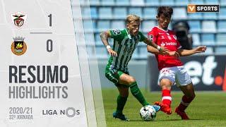 Highlights   Resumo: Santa Clara 1-0 Rio Ave (Liga 20/21 #32)
