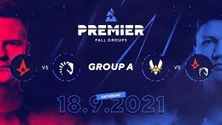 BLAST Premier Fall Groups: Astralis vs. Team Liquid, Vitality vs. Winner of AST/TL |  Group A, Day 3