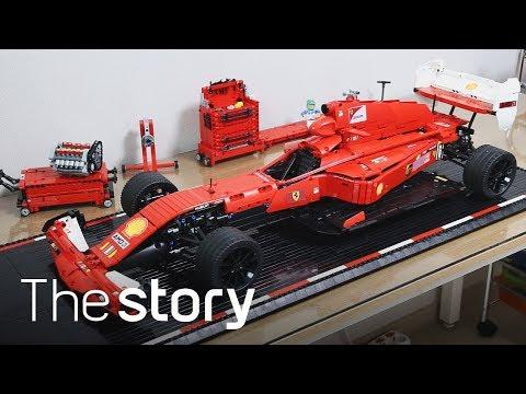 으르렁 거리는 엔진소리! 레고로 'F1 포뮬러'를 만든 창작가! : 레고 테크닉 창작, 최진성 (ENG/KOR/JPN sub)