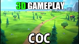 CLASH OF CLANS *3D VERSION* GAMEPLAY AND DOWNLOAD LINK l CLASHER MUST WATCH