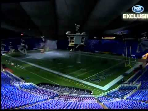 Hubert H Humphrey Metrodome Roof Collapse In 2010 Youtube