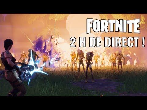 fortnite - 2h de direct sur le tower defense de epic games - YouTube