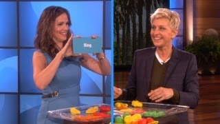 Jennifer Garner Sculpts with Ellen