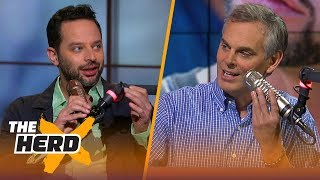 Nick Kroll on ballin' against Kyrie Irving in Uncle Drew, Shaq's acting chops | NBA | THE HERD