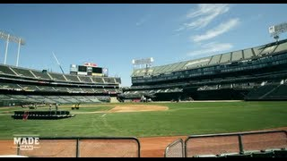 Flipping Oakland's Field from Baseball to Football