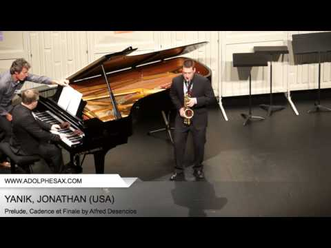 Dinant 2014 - YANIK Jonathan (Prelude, Cadence et Finale by Alfred Desenclos)