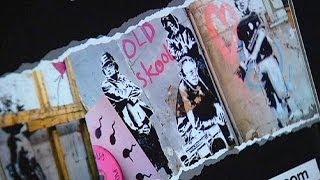 Выставка Бэнкси— кумира всех художников  в стиле граффити